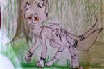 Warrior Cats oc Demontail by SlendyFox321