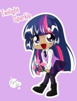 Twilight Sparkle Flower by Shinta-Girl