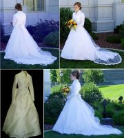 Wedding dress by lasmith