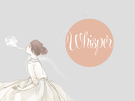 whisper by Mokonochan