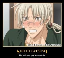Souichi Tatsumi - The only one gay homophobe by KiraShion
