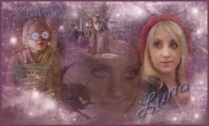 Luna Lovegood Wallpaper by QueenDevious