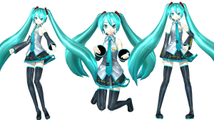 PROJECT DIVA F Hatsune Miku (FINISH) by johnjan11