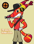 The Quick Brown Scout by kyleracicot13