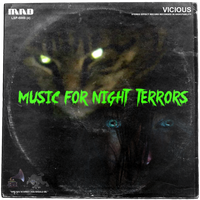 Music For Night Terrors LP Cover by MrAngryDog