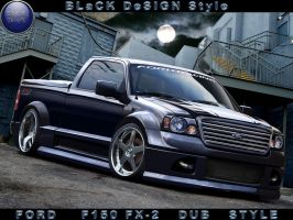 Ford F150 LITTLE DUB TRUCK by BLaCKDesigN