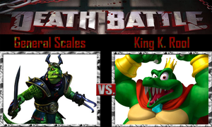 General Scales vs King K. Rool by SonicPal