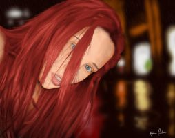 Red Mary by marciopinheiro