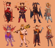 Costume Ball 2 by Momo-Deary