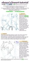 Lineart Tutorial using SAI by elanorchuah