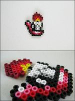 Link to the Past red candle bead sprite by 8bitcraft
