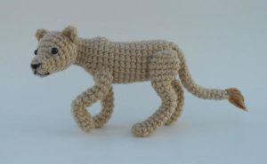 Crochet Lion by Pickleweasel360