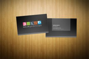 Keelans Business Cards by scottrichardson