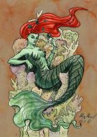 MerMay 26 - DC by little-squirtle