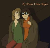 Shaggy and Velma by Missis-Velma-Rogers