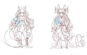Mystic Adopts WIP by Oma-Chi