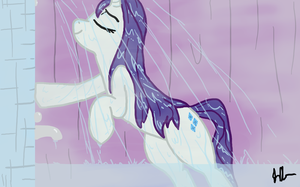 In the Shower by The-Kinetic