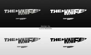 logo the knife v2 by bisiobisio