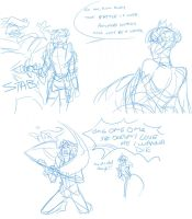 odin sphere - oswald is lame by chirart