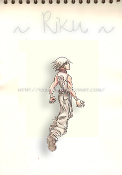 Riku - He had given into Light by Vargue