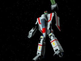 VF-7X Sylphide Battloid Mode by X1Commander