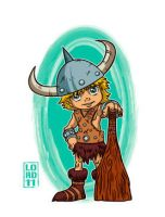 Lil Bobby the Barbarian by lordmesa