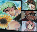 aceo cards by XMenouX