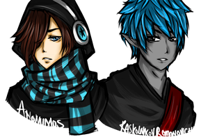 Anonu and Roman by SweetDarknesz