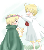 APH - Flowers for your thought by Mi-chan4649
