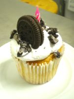 Cookies and Cream Cupcake by amysalmon