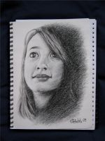 charcoal portrait by pitschke
