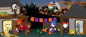 Halloween 2012 by Dragon-FangX