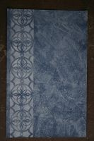 Blue leather and stencil texture stock by ESTilton