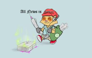 Paperboy Teemo by ILIKEHUGSS