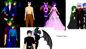MMD Prophecy Model Pack