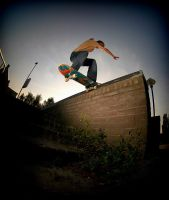 Tailslide ledge by Obscurity-Doll