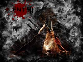 Silent Hill-Pyramid Head by trent28o