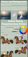 Horses and Backgrounds - Colour Tutorial by Rosalaun