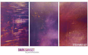 dark sunset -textures set by PannaHerbatka