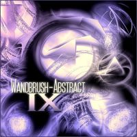 Wandbrush-AbstractIX by MonkWanderer