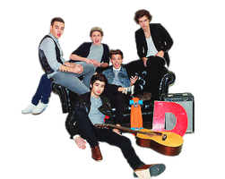 One Direction PNG by PrimadonnaWorld