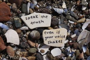 Don't Be Afraid To Speak Out by Rhiallom