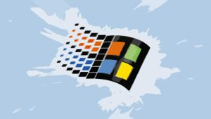 Windows 98 Startup logo by Daunlouded