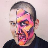 Face Painting by RonnieMena