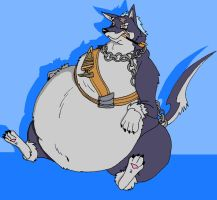 fat Repede by HectortheWolf