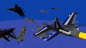 Air Battle over Chang Island by Marksman104