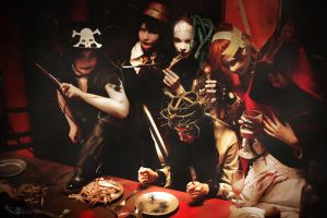 HALLOWEEN JUNKY ORCHESTRA - Halloween Party by AnnaProvidence