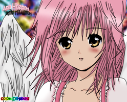 Amu hinamori angel - color by Onlydii