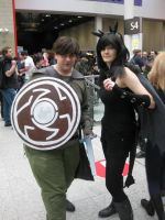 Hiccup and Toothless [Oct MCM 2013] by drawingdream
