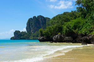 Railay Beach I by justThorvald